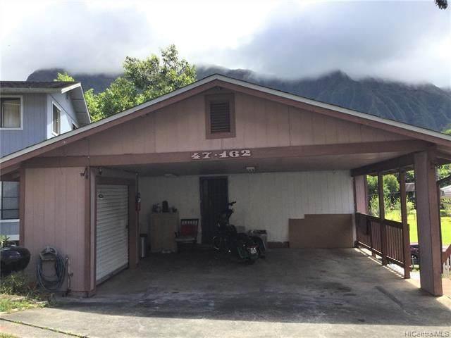 47-162 Hui Oo Place #9, Kaneohe, HI 96744 (MLS #202012614) :: Elite Pacific Properties