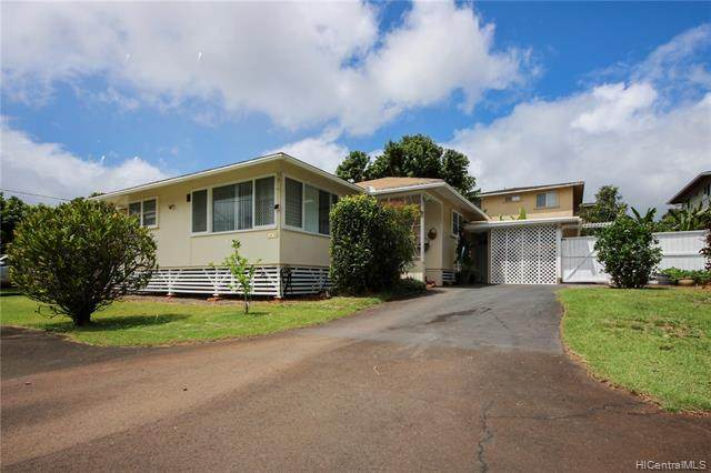 1269 Loko Drive B, Wahiawa, HI 96786 (MLS #202012891) :: Barnes Hawaii