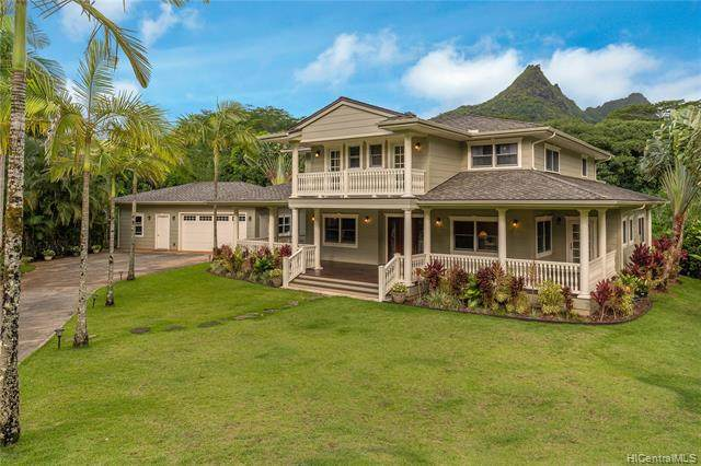 1120 Maunawili Road, Kailua, HI 96734 (MLS #202014580) :: Elite Pacific Properties