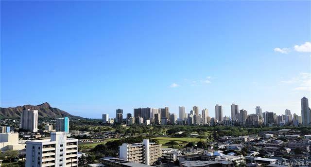 2825 S King Street #1503, Honolulu, HI 96826 (MLS #202015325) :: Elite Pacific Properties