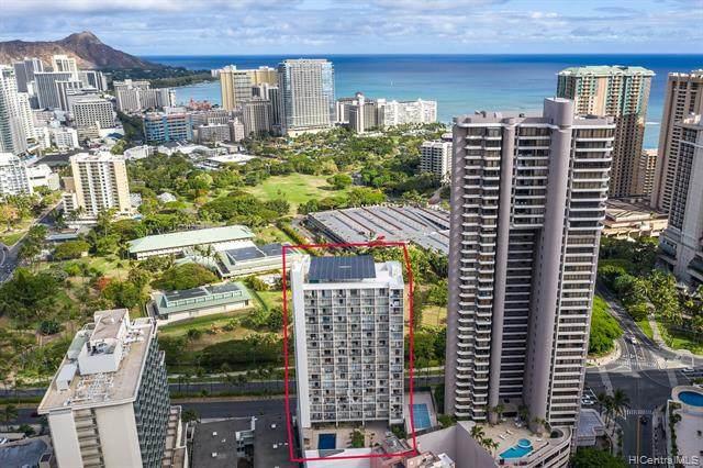 1920 Ala Moana Boulevard #610, Honolulu, HI 96815 (MLS #202015412) :: Keller Williams Honolulu