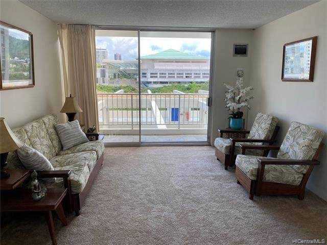 400 Hobron Lane #612, Honolulu, HI 96815 (MLS #202015430) :: Elite Pacific Properties