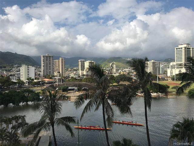 1909 Ala Wai Boulevard #702, Honolulu, HI 96815 (MLS #202015554) :: Elite Pacific Properties
