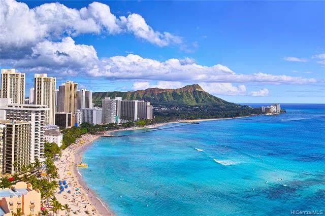 445 Seaside Avenue #4301, Honolulu, HI 96815 (MLS #202015580) :: Barnes Hawaii