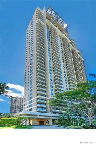 1551 Ala Wai Boulevard #2302, Honolulu, HI 96815 (MLS #202015844) :: Barnes Hawaii