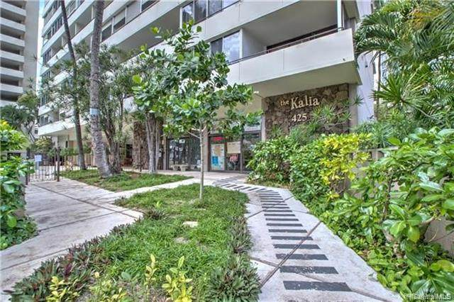 425 Ena Road 1205A, Honolulu, HI 96815 (MLS #202016913) :: Barnes Hawaii