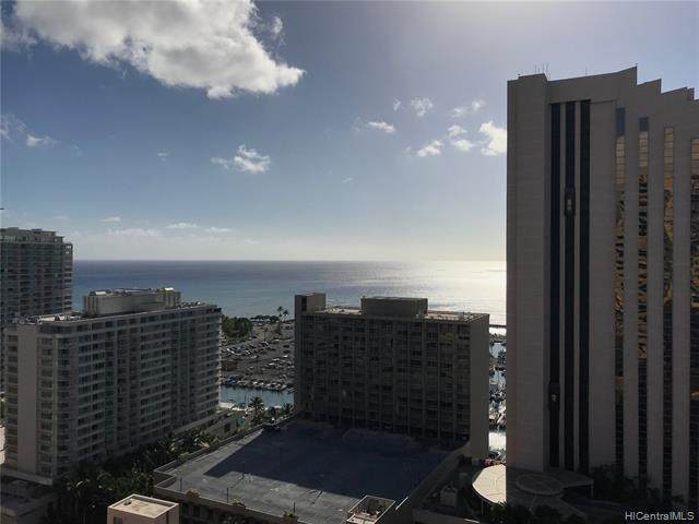 1700 Ala Moana Boulevard #2803, Honolulu, HI 96815 (MLS #202017018) :: Team Lally