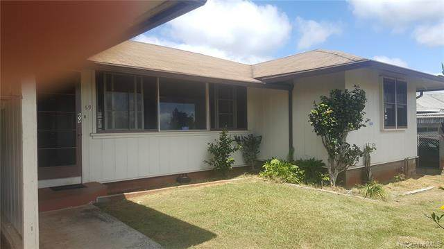 69 Kaliko Drive, Wahiawa, HI 96786 (MLS #202017471) :: Keller Williams Honolulu