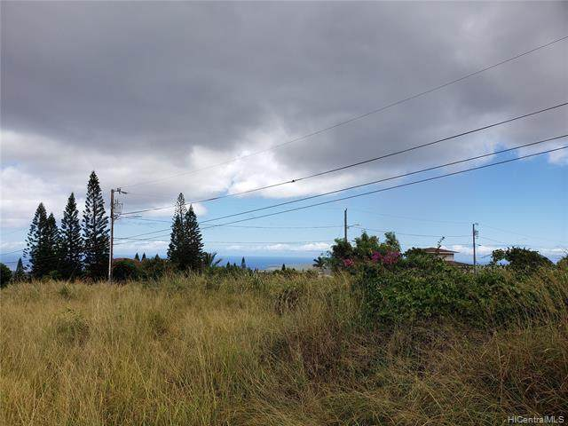 00 Puunana Street, Maunaloa, HI 96770 (MLS #202017659) :: Elite Pacific Properties