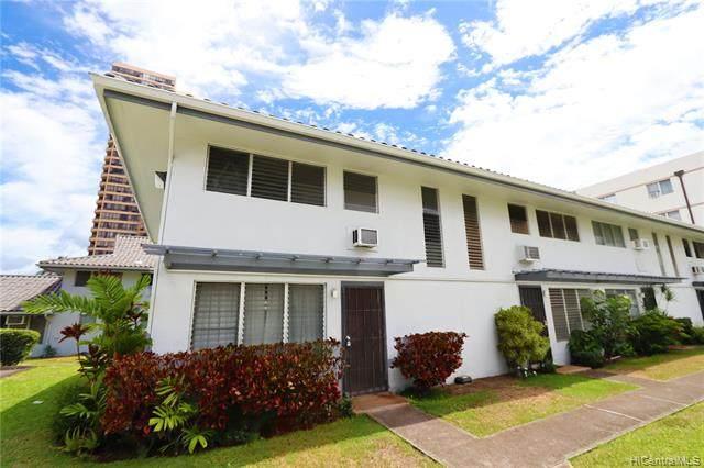 2988 Ala Ilima Street #8, Honolulu, HI 96818 (MLS #202017708) :: Elite Pacific Properties