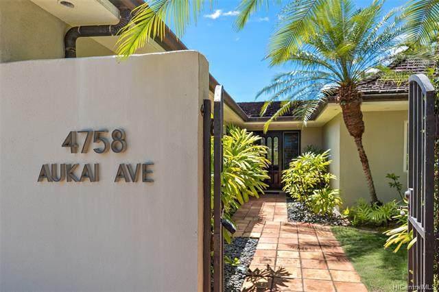 4758 Aukai Avenue, Honolulu, HI 96816 (MLS #202017723) :: Barnes Hawaii
