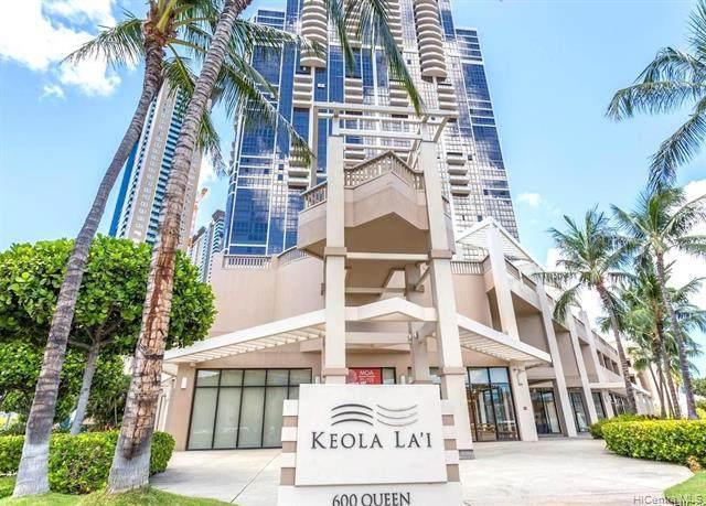 600 Queen Street #2302, Honolulu, HI 96813 (MLS #202018451) :: Elite Pacific Properties