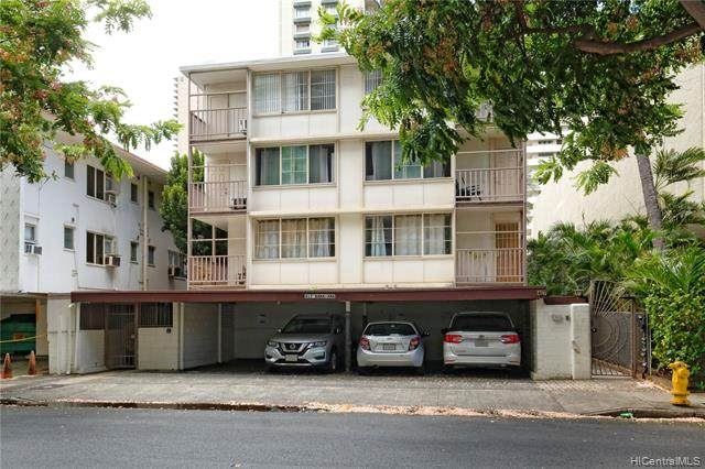 417 Namahana Street #14, Honolulu, HI 96815 (MLS #202018652) :: Barnes Hawaii