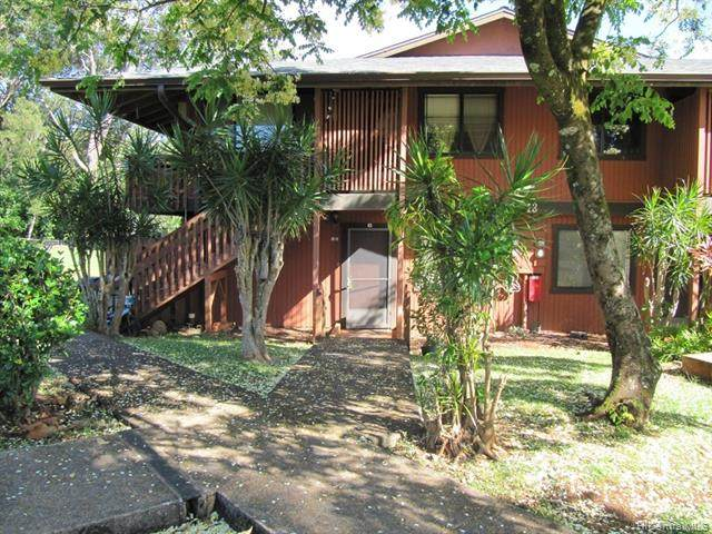 2069 California Avenue 13C, Wahiawa, HI 96786 (MLS #202020048) :: The Ihara Team