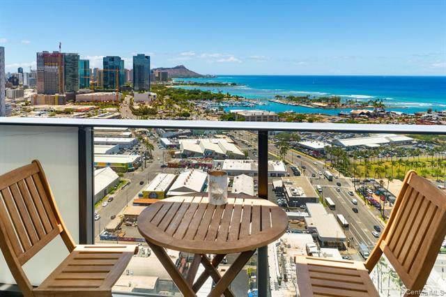 600 Ala Moana Boulevard #2703, Honolulu, HI 96813 (MLS #202020156) :: Elite Pacific Properties