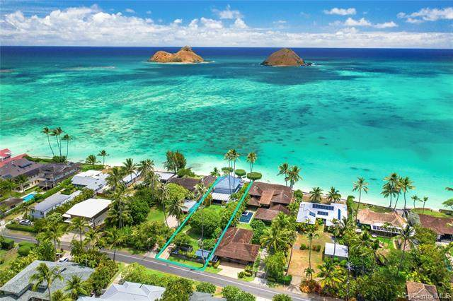 1556 Mokulua Drive, Kailua, HI 96734 (MLS #202021166) :: LUVA Real Estate