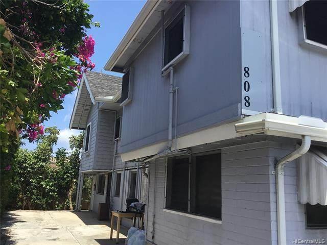 808 Makaleka Avenue, Honolulu, HI 96816 (MLS #202021254) :: The Ihara Team