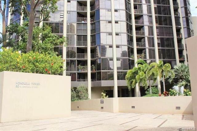 60 N Beretania Street #405, Honolulu, HI 96817 (MLS #202021381) :: Keller Williams Honolulu