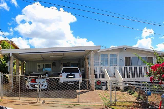 92-485 Awawa Street, Kapolei, HI 96707 (MLS #202021645) :: LUVA Real Estate