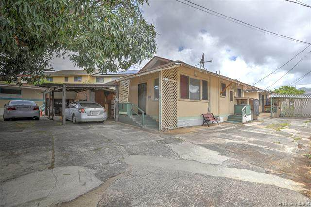 1448 Kamehameha IV Road B, Honolulu, HI 96819 (MLS #202021707) :: Corcoran Pacific Properties