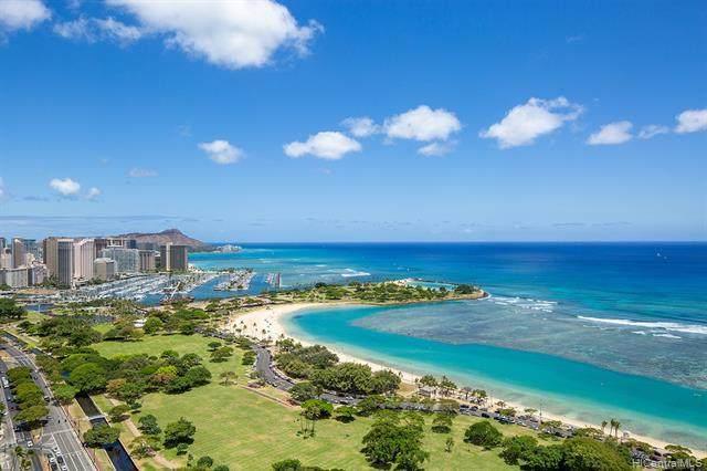 1288 Ala Moana Boulevard 34DE, Honolulu, HI 96814 (MLS #202021947) :: Corcoran Pacific Properties