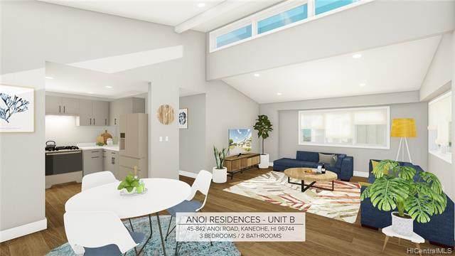 45-842 Anoi Road B, Kaneohe, HI 96744 (MLS #202023114) :: LUVA Real Estate