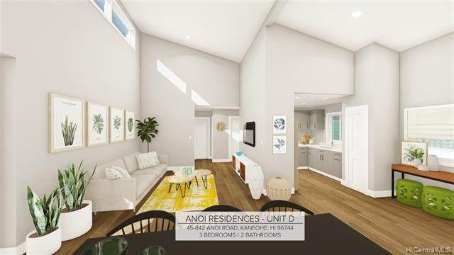 45-842 Anoi Road D, Kaneohe, HI 96744 (MLS #202023121) :: LUVA Real Estate