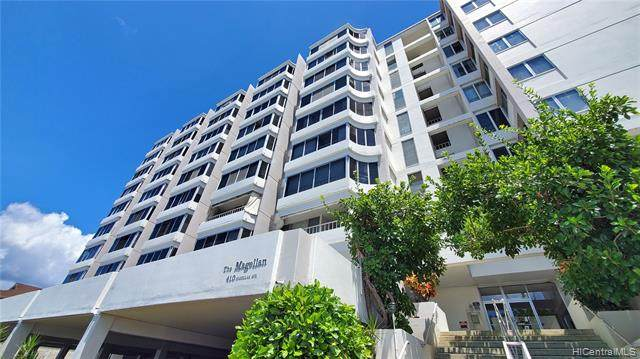 410 Magellan Avenue #805, Honolulu, HI 96813 (MLS #202023369) :: The Ihara Team