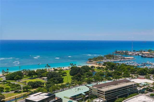 1177 Queen Street #3504, Honolulu, HI 96814 (MLS #202023648) :: Keller Williams Honolulu