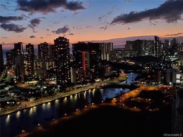 2333 Kapiolani Boulevard Ph 3512, Honolulu, HI 96826 (MLS #202023690) :: The Ihara Team