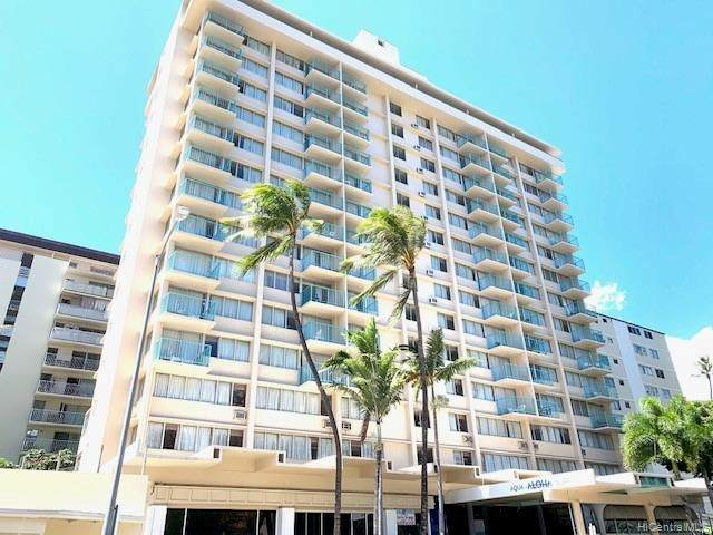 444 Kanekapolei Street #317, Honolulu, HI 96815 (MLS #202024084) :: Team Lally