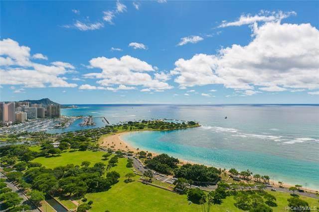 1330 Ala Moana Boulevard #3705, Honolulu, HI 96814 (MLS #202024138) :: Keller Williams Honolulu