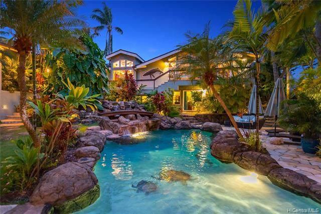 22 Palione Place, Kailua, HI 96734 (MLS #202024232) :: Barnes Hawaii