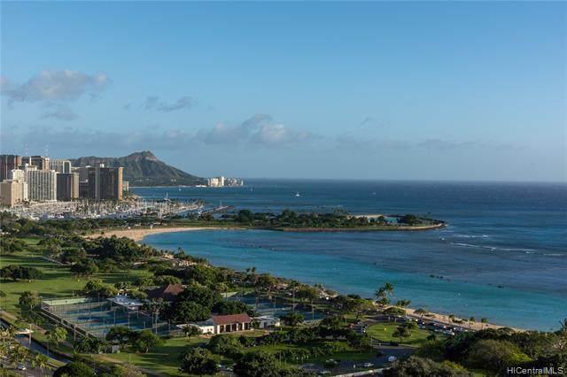 1118 Ala Moana Boulevard #2300, Honolulu, HI 96814 (MLS #202024315) :: Corcoran Pacific Properties