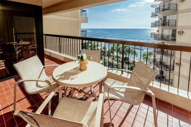 2470 Kalakaua Avenue #1204, Honolulu, HI 96815 (MLS #202024751) :: Barnes Hawaii