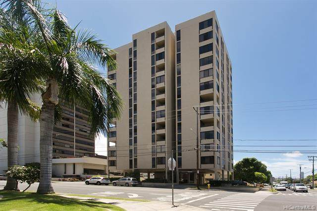 1505 Alexander Street #1205, Honolulu, HI 96822 (MLS #202026678) :: The Ihara Team