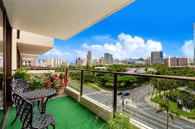 1860 Ala Moana Boulevard #908, Honolulu, HI 96815 (MLS #202027547) :: Team Lally