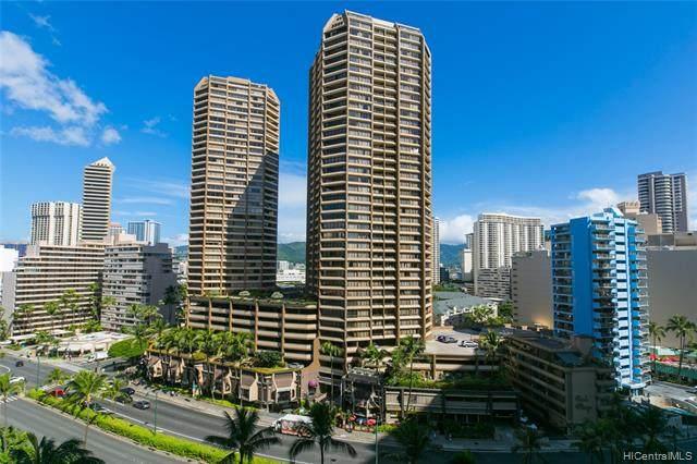 1778 Ala Moana Boulevard #1707, Honolulu, HI 96815 (MLS #202027584) :: LUVA Real Estate