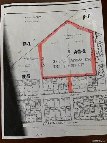 87-1456 Akowai Street, Waianae, HI 96792 (MLS #202027865) :: Corcoran Pacific Properties