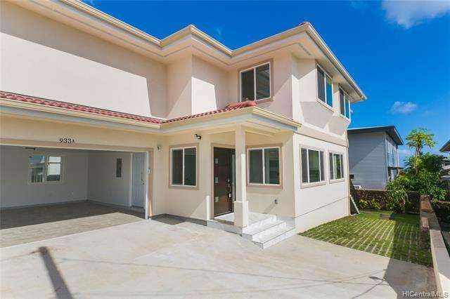 933 18TH Avenue A, Honolulu, HI 96816 (MLS #202028154) :: Corcoran Pacific Properties