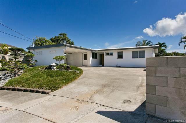833 Pomahina Place, Kailua, HI 96734 (MLS #202028472) :: The Ihara Team