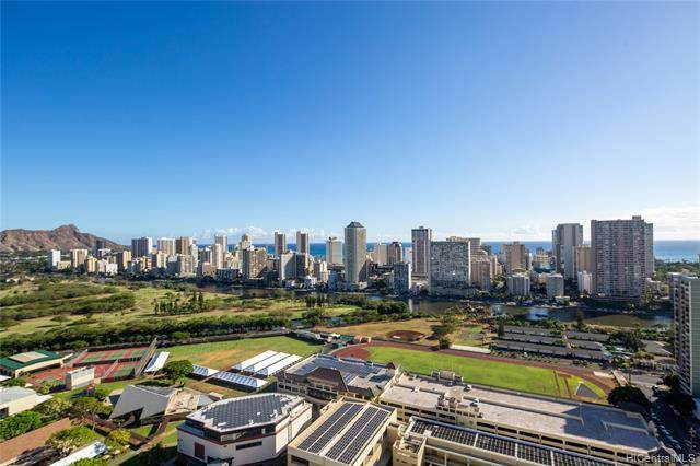 581 Kamoku Street #3404, Honolulu, HI 96826 (MLS #202028685) :: The Ihara Team