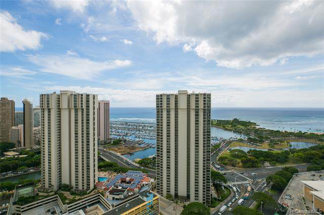 410 Atkinson Drive #3315, Honolulu, HI 96814 (MLS #202029053) :: The Ihara Team