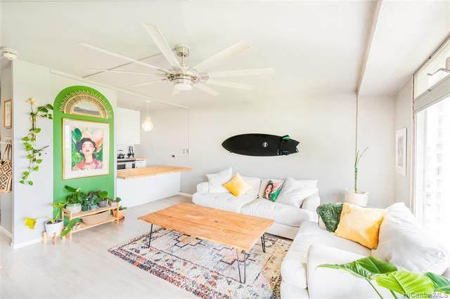 1519 Nuuanu Avenue #1544, Honolulu, HI 96817 (MLS #202029316) :: LUVA Real Estate