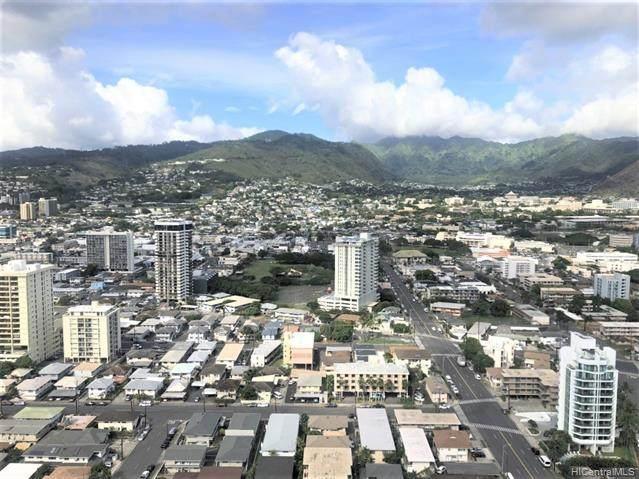 2333 Kapiolani Boulevard #3503, Honolulu, HI 96814 (MLS #202029470) :: Keller Williams Honolulu