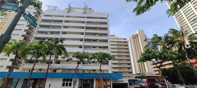 2463 Kuhio Avenue #507, Honolulu, HI 96815 (MLS #202029723) :: Keller Williams Honolulu