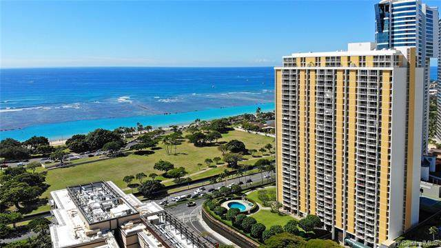 1350 Ala Moana Boulevard #2505, Honolulu, HI 96814 (MLS #202029756) :: LUVA Real Estate