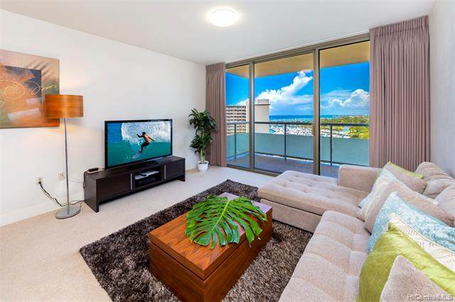 1551 Ala Wai Boulevard #1202, Honolulu, HI 96815 (MLS #202029780) :: LUVA Real Estate