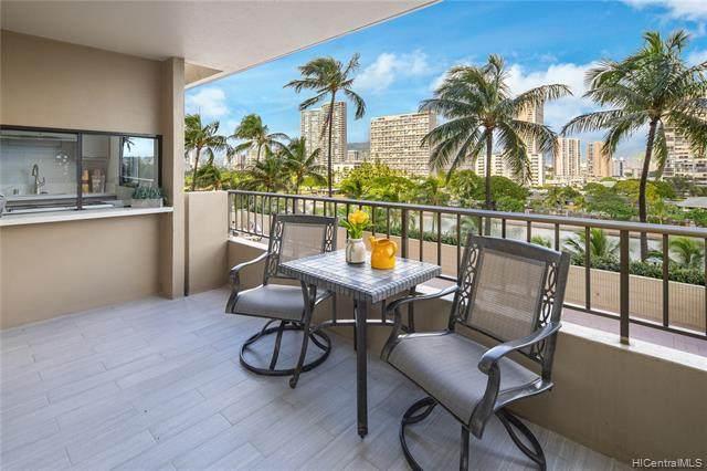2121 Ala Wai Boulevard #704, Honolulu, HI 96815 (MLS #202030376) :: Barnes Hawaii
