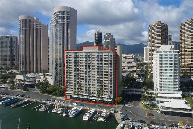 1765 Ala Moana Boulevard #1197, Honolulu, HI 96815 (MLS #202030408) :: The Ihara Team